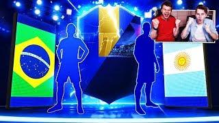 OMG! TRAFIŁEM BRAZYLIJSKIEGO TOTSA i KARTĘ UCL PREMIUM! 8x WALKOUT! | FIFA 19 PACK OPENING