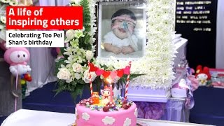 Celebrating a life: Teo Pei Shan, the Singapore teen trapped in a child's body