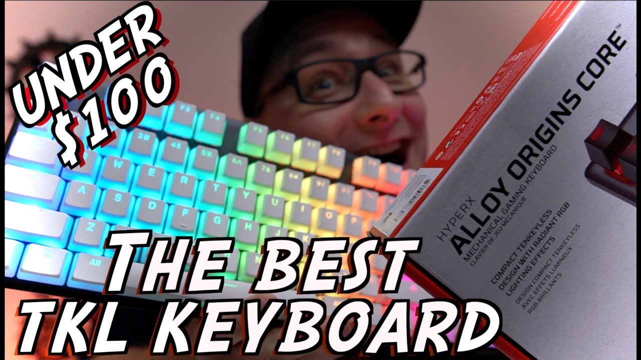 NEW HyperX Alloy Origins Core TKL Keyboard Review + HyperX PBT Keycap Install