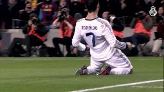 بالفيديو.. جميع أهداف رونالدو فى برشلونة بـ «الكامب نو»