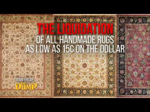 Liquidating 30,000 Rugs in 3 Days