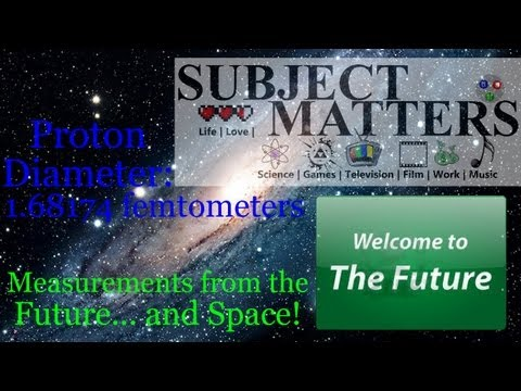 Subject Matters: Measurements from the Future... and Space!