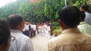 Independence day was celebrated in HSVP OFFICE
