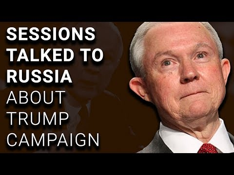 MORE: Sessions Discussed Trump Campaign w/Russian Ambassador