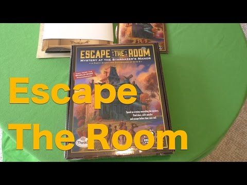 Escape The Room - Mystery At The Stargazer's Manor, No Spoilers Review