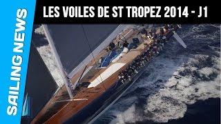 Les Voiles De Saint Tropez 2014 Jour 1