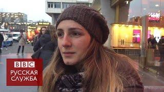 Берлинцы    о трагедии на рождественской ярмарке