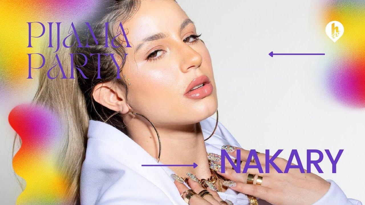 Pijama Party junto a Nakary en vivo por Htv desde casa