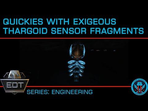 Quickies: Thargoid Sensors & Sensor Fragments