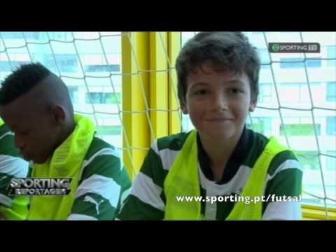 Reportagem Sporting Tv -  A formação do Futsal do Sporting Clube de Portugal