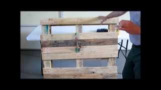 Diy Prepping:  From Pallet To Planter Pt.2
