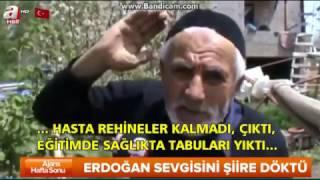 Yozgatlı Eyüp Özer'den Cumhurbaşkanı Recep Tayyip Erdoğan'a  Muhtesem şiiri