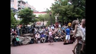 Drum Circle Downtown Asheville North Carolina  NC