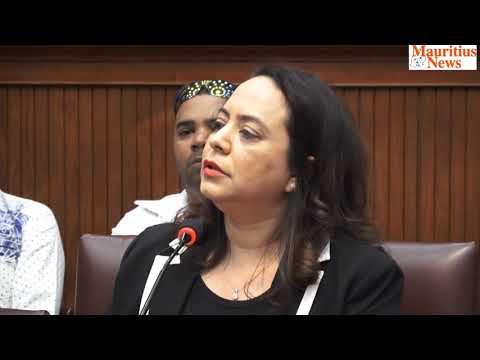 Mauritius News: Dorine Chukowry s'adhère au MSM