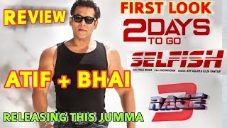 RACE 3 SECOND SONG SELFISH FIRST LOOK SONG RELEASING THIS FRIDAY VO...