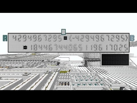 32 Bit Calculator in Minecraft