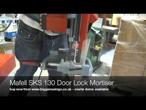 Mafell SKS 130 Door Lock Mortiser & Mafell SKS 130 Door Lock Mortiser - YouTube
