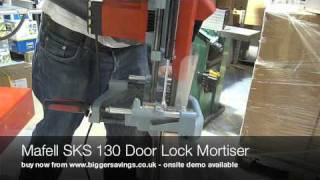 Mafell Sks 130 Door Lock Mortiser