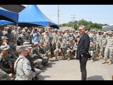 Gary Sinise & The Lt Dan Band Korea Visit