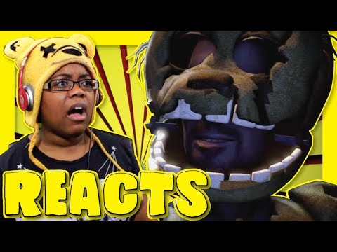 SPRINGTRAP'S VOICE | NIKSON REACTION | AYCHRISTENE REACTS