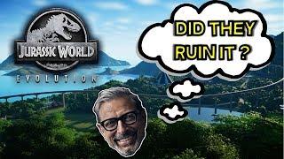 Jurassic World Evolution -- Honest Review -- Should you buy it