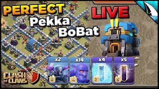 *Perfect Pekka BoBat Plan* TH 12 LIVE Planning | Clash of Clans