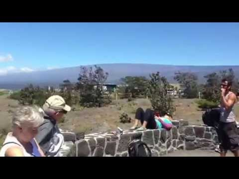Kilauea caldera, Jagger Museum and Hawaiian Volcano Observatory, the Big Island