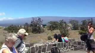 Kilauea caldera, Jagger Museum and Hawaiian Volcano Observatory, the Big Island