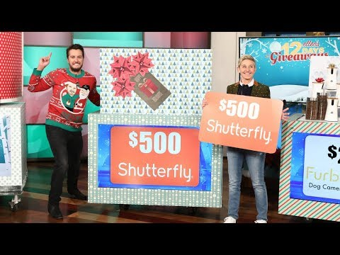 Download Youtube: It's Day 15 of 12 Days! Ellen and Luke Bryan Wrap Things Up with a Bang!