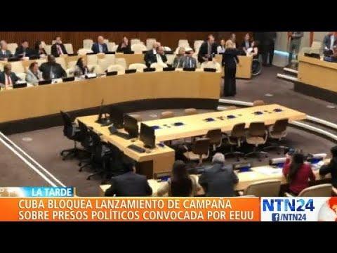 Misión de Cuba en la ONU impidió que EE. UU. hablara sobre presos políticos