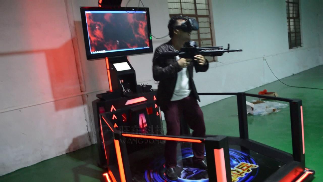 a82e1d538fda vr battle shooting gun game virtual reality 9d vr simulator - YouTube