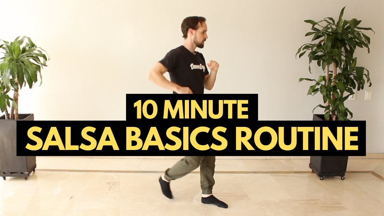 10 Minute Salsa Basic Steps Practice Routine You Can Do Solo at Home