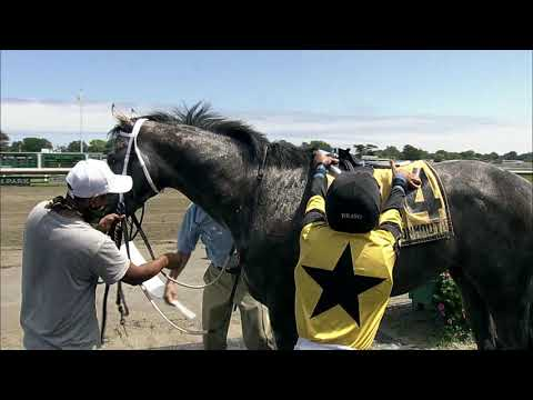 video thumbnail for MONMOUTH PARK 08-08-20 RACE 1 – TYRO STAKES