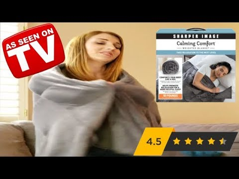 Calming Comfort Weighted Blanket Review As Seen On Tv ʘʘ Youtube