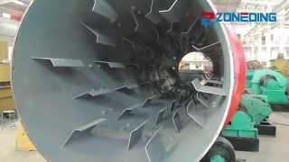 Смотреть видео rotary dryer