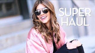SUPER HAUL nueva temporada | Zara, Pull&Bear, Mango, Asos - TRENDY TASTE