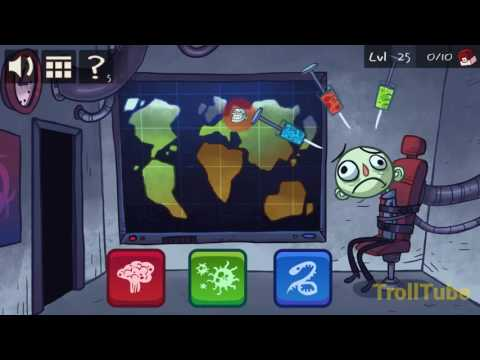Troll Face Quest Video Games Level 25 Walkthrough