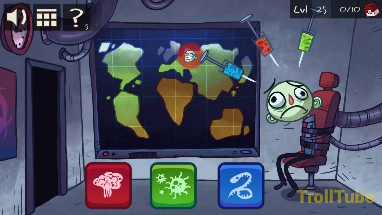 Troll Face Quest Video Games Level 25 Walkthrough - YouTube