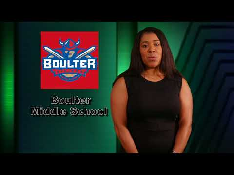 Boulter Middle School - Principal Message