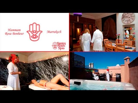 Hammam Rosa Bonheur | Samira Riads Spas Marrakech Médina