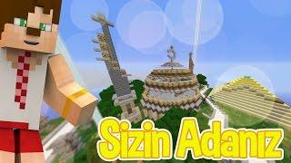 Minecraft SkyBlock Sizin Adanıza Konuk Oluyorum #1