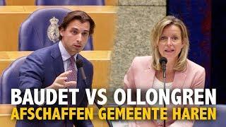 Baudet vs Ollongren over opheffen gemeente Haren (volledige inbreng debat)