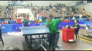 Abdul Mulok (Dynamic Sport Table Tennis) - Blok berpusing