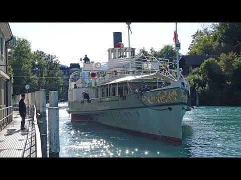 Paddle Steamer Lotschberg On Lake Brienz 14 09 17