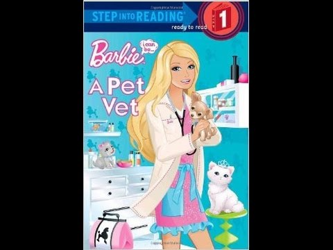 barbie i can be a pet vet step into reading step 1