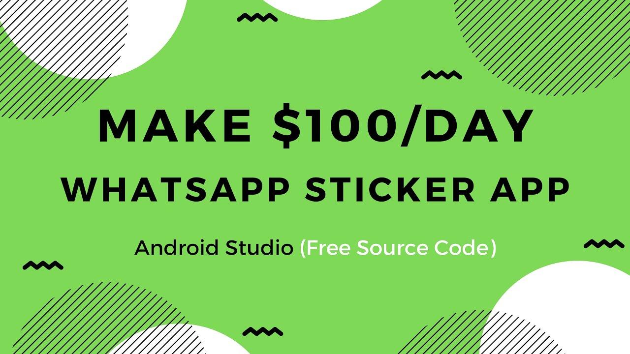sticker app android studio