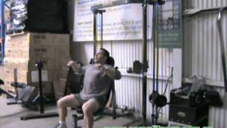 Seated Chest Press & Flys on the Powertec Shape System at www.samsfitness.com.au