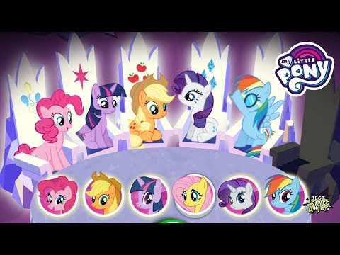 My Little Pony: Harmony Quest #239 • 6 PONIES W/ THEIR SPECIAL POWERS! By Budge
