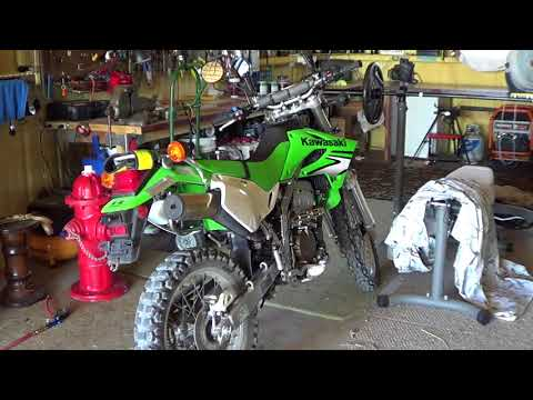 Kawi 250 KLX Carb Issues or Gas or Plug or Air Filter or What?