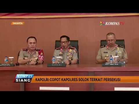 Kapolri Jenderal Tito Karnavian Copot Kapolres Solok